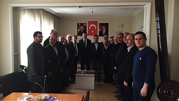 Zafer Nalbantoğlu Ziyaretlerine Devam Ediyor