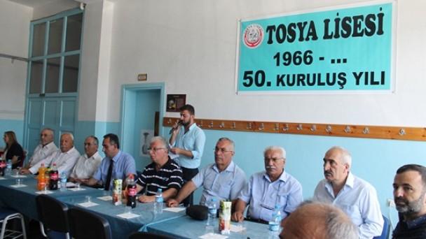 Tosya Lisesi'nde 50.Yıl Buluşması