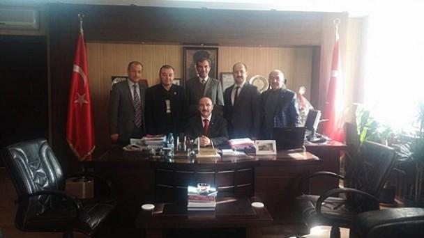 Meclis Üyelerinden Defterdar Yaşar Kısa'ya Ziyaret