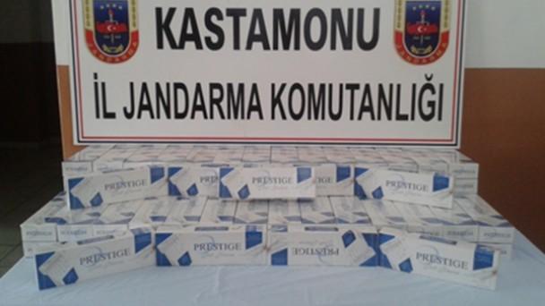 Tosya Jandarması D-100'de Kaçakçılara Geçit Vermedi