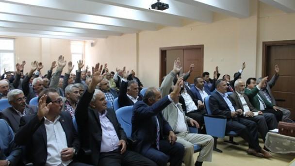 Köylere Hizmet Götürme Birliği'nde Seçim Yapıldı
