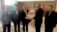 Bakan Naci Ağbal'a projelerini sundu
