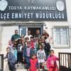 Miniklerden Polis Amcalara Ziyaret
