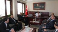 Çelebi'den Kaymakam Türköz'e Nezaket Ziyareti