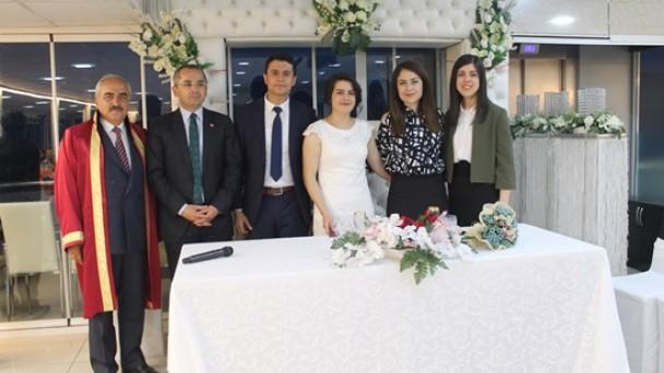 Tosya Hakimi Sade Nikah Töreniyle Evlendi