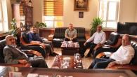 Başkan Kazım Şahin'i Ziyaret Etti