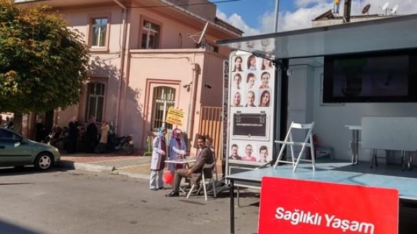 Sağlıklı Yaşam Mobil Aracı Tosya'da