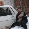 Hayvansever vatandaş, arabasını sokak hayvanlarına barınak yaptı