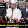 Başkan Bardakoğlu'nun Kastamonu Proğramı Netleşti