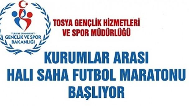 Kurumlar Arası Halı Saha Futbol Turnuvası Başlıyor