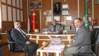 Ziraat Odası Başkanı Ahmet Akdiken'i Ziyaret Etti