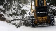 Kış Bastırıyor; Kastamonu'da 11 köy yolu ulaşıma kapandı