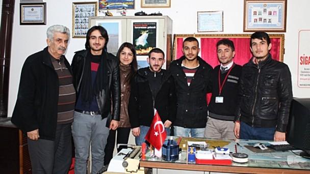 Öğrencilerden Türk Hava Kurumu'na Ziyaret