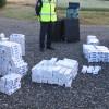 Tosya'da 500 Paket kaçak sigara ele geçirildi