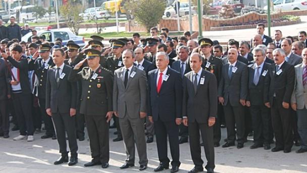 Ölümünün 76. Yılında Atatürk'ü Saygıyla Andık