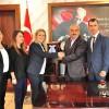 Deniz Bank'tan Başkan Şahin'e Ziyaret