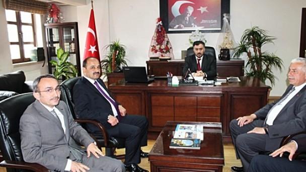 Rektör Aydın'dan Müftü Bektaş'a Ziyaret