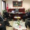 Din Görevlileri Kaymakam Cıbır'ı Ziyaret Etti