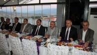 Vali Günaydın OSB'nin iftar yemeğine katıldı