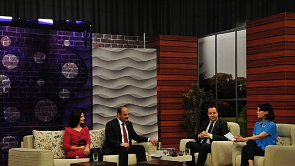 Rektör Aydın TRT AVAZ'a Konuk Oldu