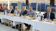 Belediye'den Kurum Amirlerine İftar Yemeği