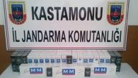 Tosya'da 439 Paket Kaçak Sigara Ele Geçirildi