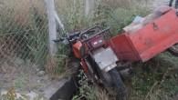 D-100 de Motosiklet Kazası 1 Yaralı