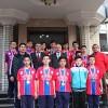 İl Şampiyonlarından Başkan Şahin'e Ziyaret