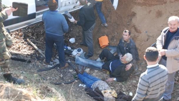 Daday yolunda feci kaza;1 ölü,12 yaralı