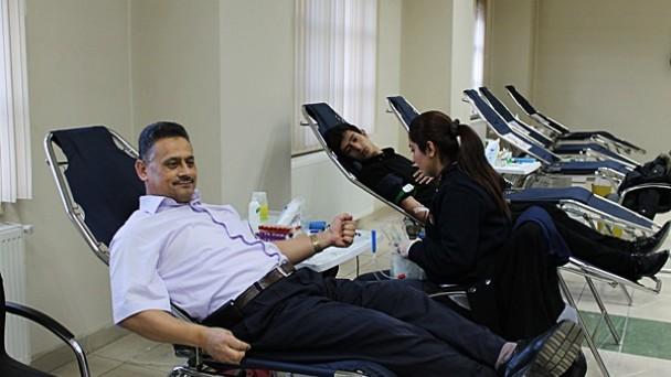 Kızılay Yılın Son Kan Bağışı Kampanyasını Düzenledi