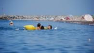 Karadeniz en sıcak ve sakin günlerini yaşıyor