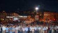 Tosya'da Demokrasi Nöbeti Devam ediyor