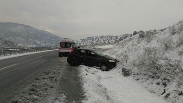 Tosya'da 2 Kaza; 2 Yaralı