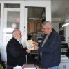 Gazetemiz Sahibi Mustafa Ünsal'a Hediye Etti