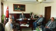 Ziraat Odası'ndan Kaymakam Cıbır'a Ziyaret