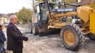 Sıcak asfaltla kaplama çalışmaları tamamlandı