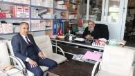 Vakıfbank Müdüründen Gazetemize Veda Ziyareti