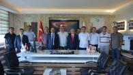 Sinop'ta Ziyaretlerde Bulundu