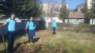 Tosya Anadolu Lisesi Çevresi Ağaçlandırıldı