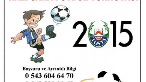 19.Tosya Ligi Halı Saha Futbol Turnuvası Başlıyor
