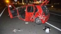 D100 Karayolu'nda Kaza; 1 Ölü 1 Ağır Yaralı