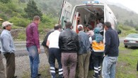 Aşağı Berçin Köyü'nde Traktör Kazası; 1 Yaralı