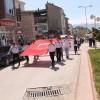Gençler Ata'sına Saygı Yürüyüşünde