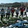 Şampiyonluğa Kar Kürüyerek Hazırlanıyorlar
