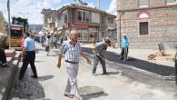 Rıhtım Boyu Caddesinde Asfalt Çalışması