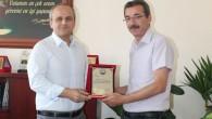 Tosya Fen Lisesi'nden Kaymakam Cıbır'a Plaket