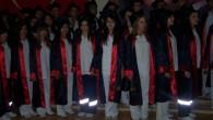 Tosya Sağlık Meslek Lisesi'nde mezuniyet heyecanı