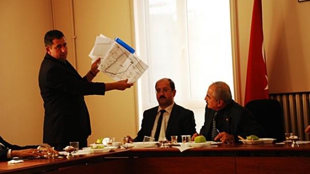 Tosya Belediyesi Kasım ayı meclis toplantısını yaptı