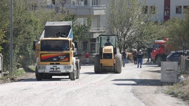 Belediye Asfalt Çalışmalarına Devam Ediyor