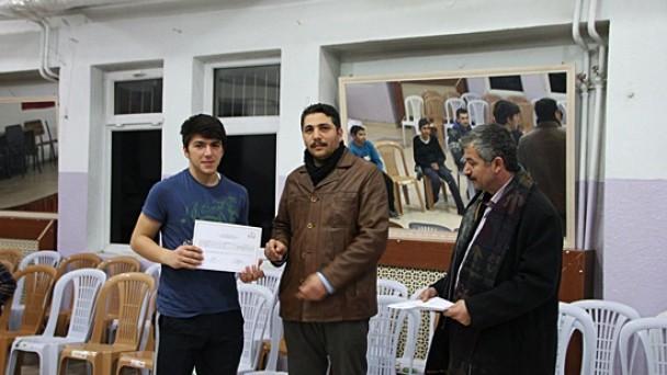 ALPAGU kursiyerleri belgelerini aldı